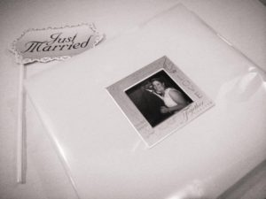 Michigan Photo Booth memory book, photo booth extras, Social share