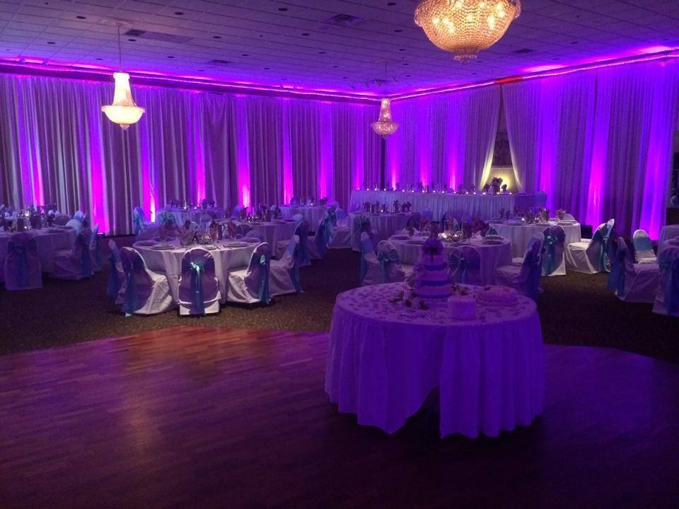 Purple uplighting rental in detroit MI