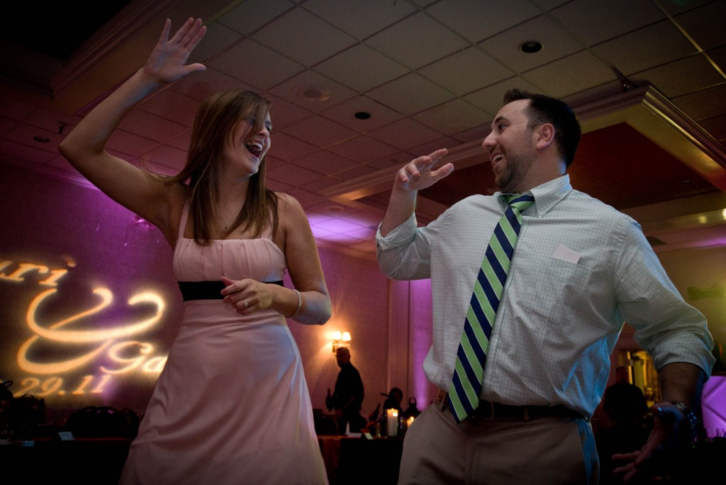 Wedding Photographer and Detroit wedding DJ -Guests Dancing for Michigan wedding DJ