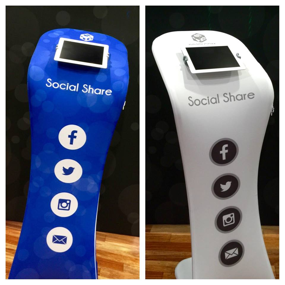Photo Booth Rental Social Share Options, Share Photos online photo Booth
