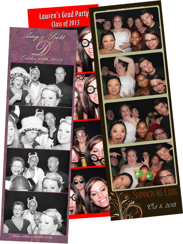 photo booth for wedding, photo booth for graduation, photo booth rental, photo booth for rent, photo strip from photo booth rental