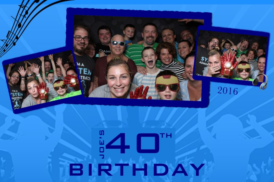 4x6 photo strip for photo booth rental in Michigan, birthday photo booth strip