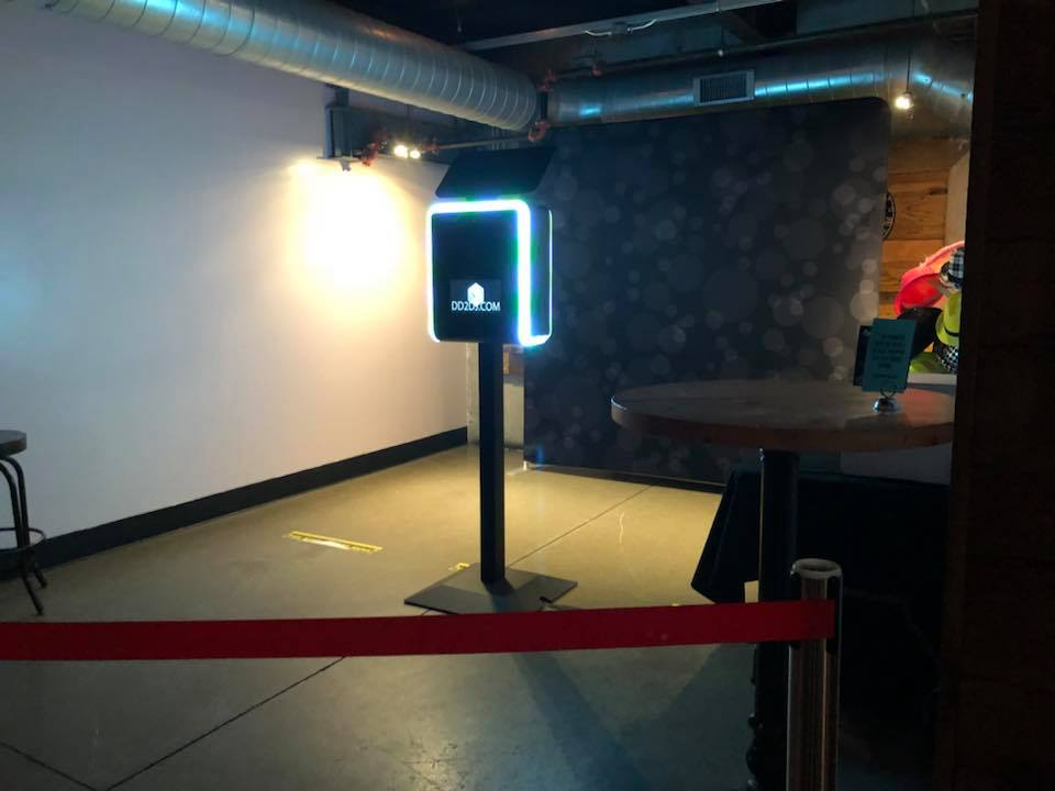 Corporate Holiday party in Detroit MIchigan, new years eve photo booth rental in detroit