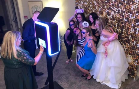 open air Wedding photo booth for rent in wayne county MI- Wedding photo booth rental