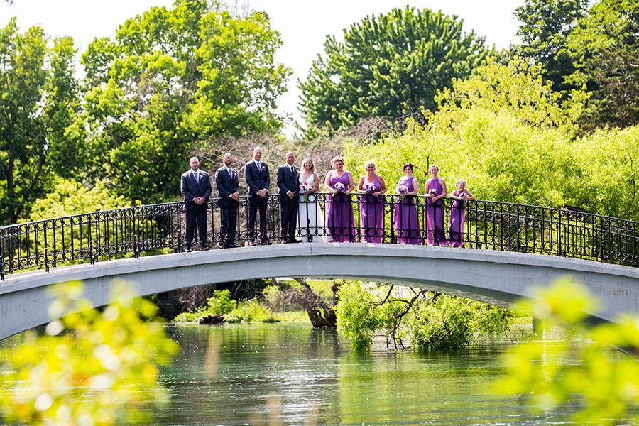 wedding bridal party Photographer in Metro Detroit Michigan