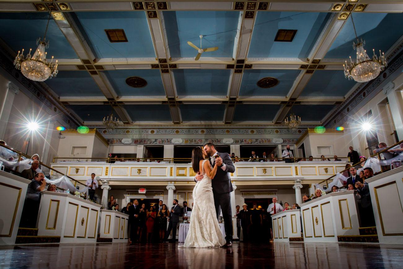 Wedding Photographer in Michigan First dance lafayette grande Pontiac MI