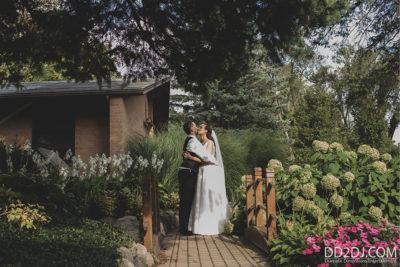 Bride and groom romantic Best Wedding Photographers in Metro Detroit