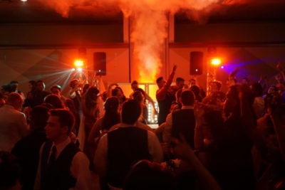 High school students dance at prom with lighting in livonia MI- Prom DJ, school dance DJs
