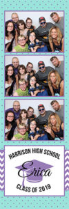 Graduation photo booth for rent - grad party idea photo strip