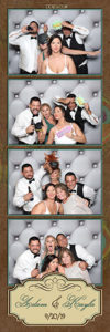 wedding photo booth for rent- wedding photo strip Detroit MI