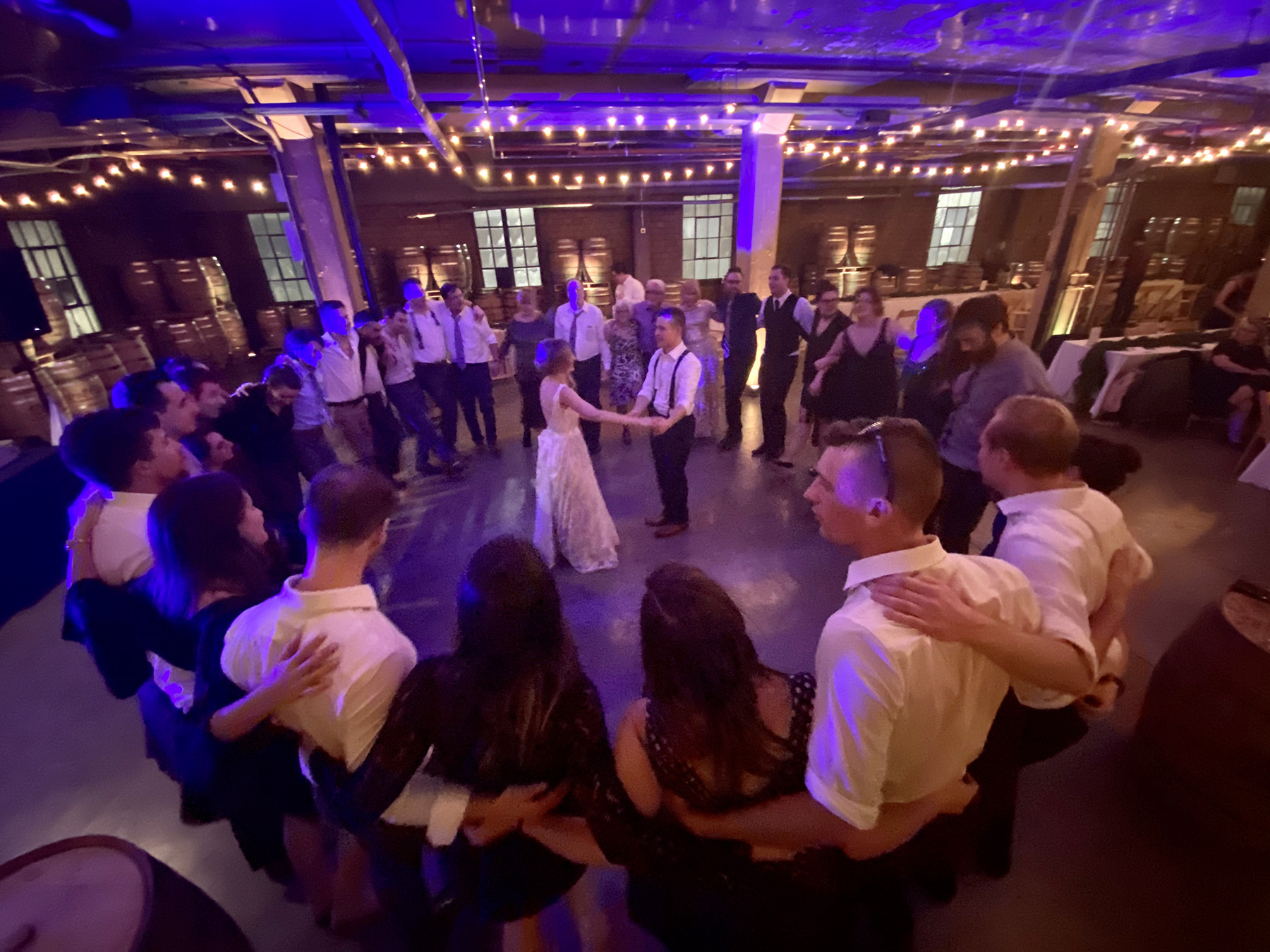 Detroit Wedding DJ and Uplighting rental at The Whiskey Factory- DJ in Detroit -Michigan DJs