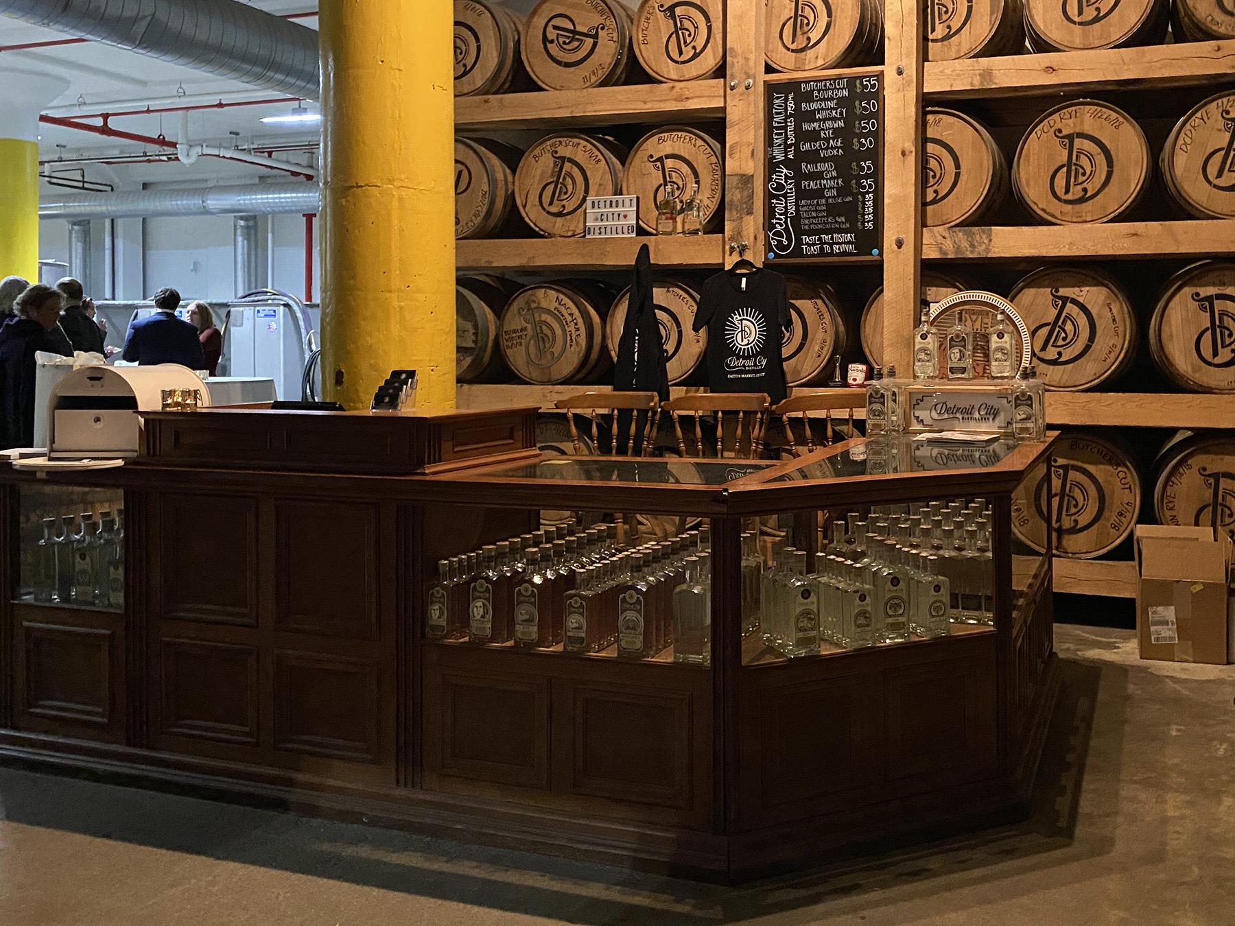 The Whiskey Factory- Detroit MI