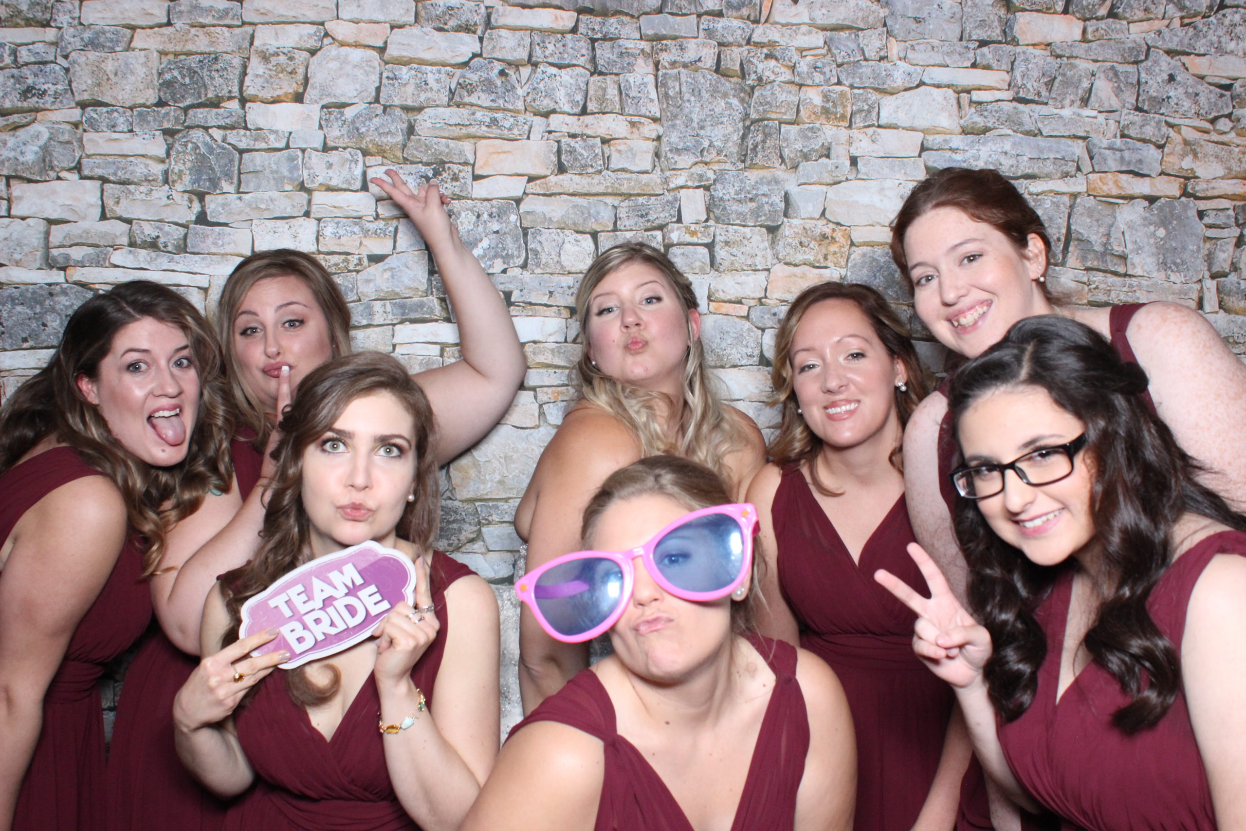 Photo booth for wedding in detroit